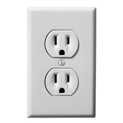 wall outlet in United States
