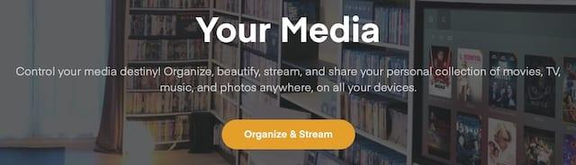 Plex information from their website.