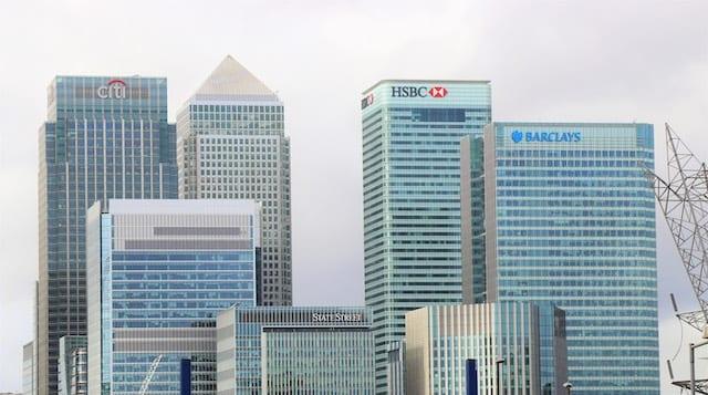 Bank skyscrapers