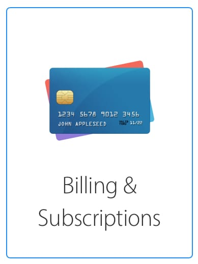 Billing and Subscriptions Apple Support icon