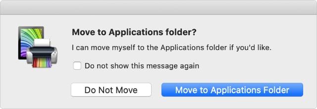 Move Printopia to Applications folder