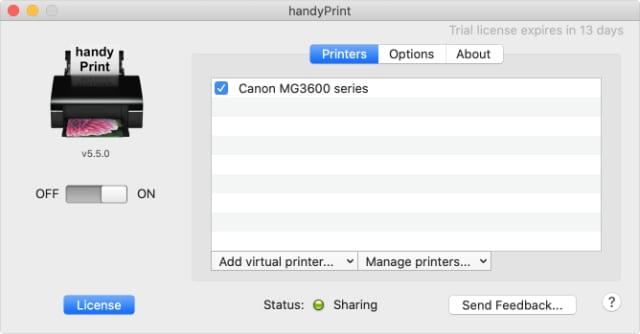handyPrint window