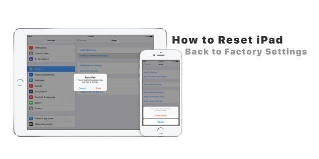 How to Reset iPad Back to Factory Settings - AppleToolBox