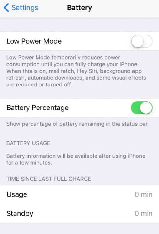 10 Simple Ways to Prolong iPhone Battery Life