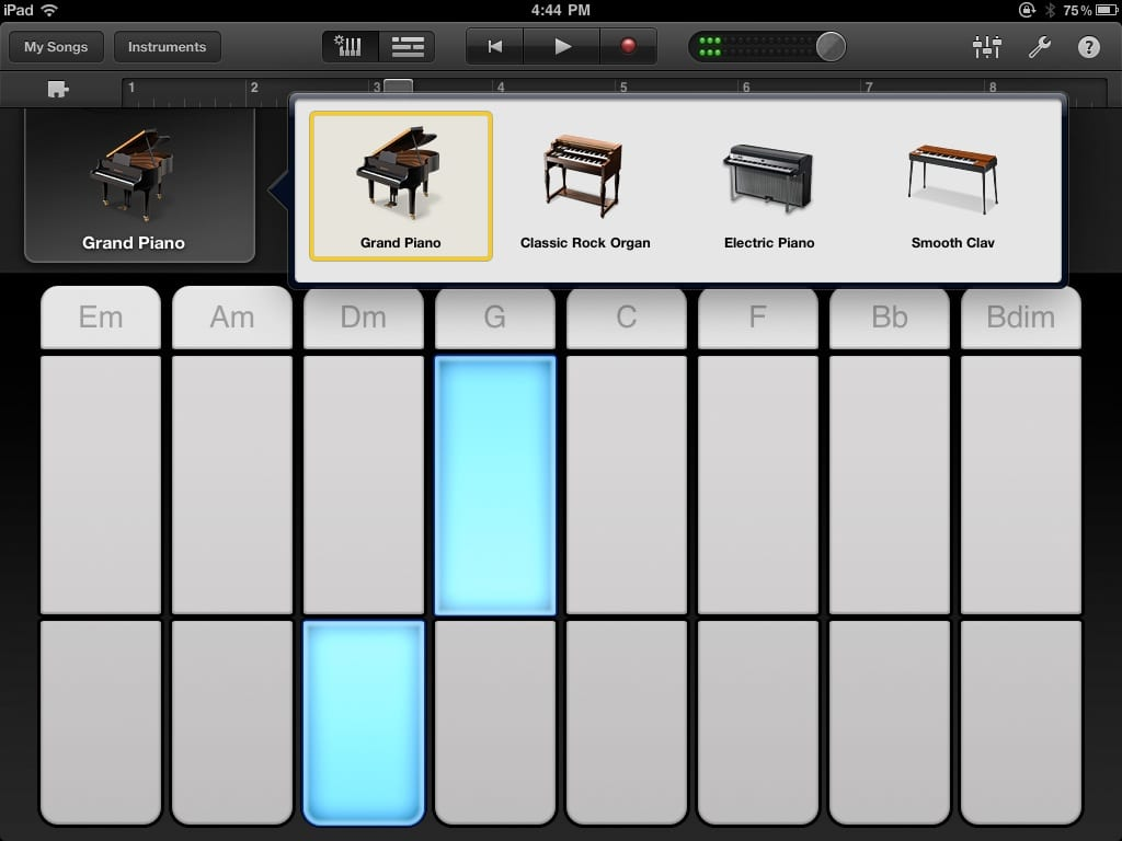 Be the next indie music hit with garageband for ipad appletoolbox save hexwebz Image collections