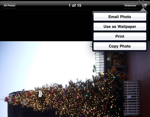 how to delete pictures from my ipad