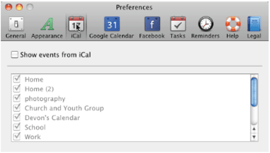 Calendarbar: Minimal Calendar in the Menubar - AppleToolBox