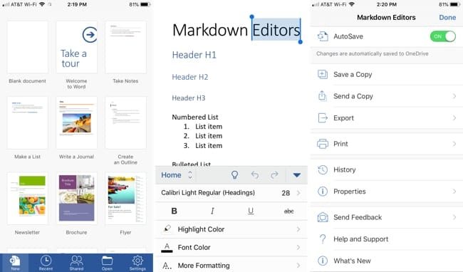 Top 5 iPhone apps for document editing - AppleToolBox