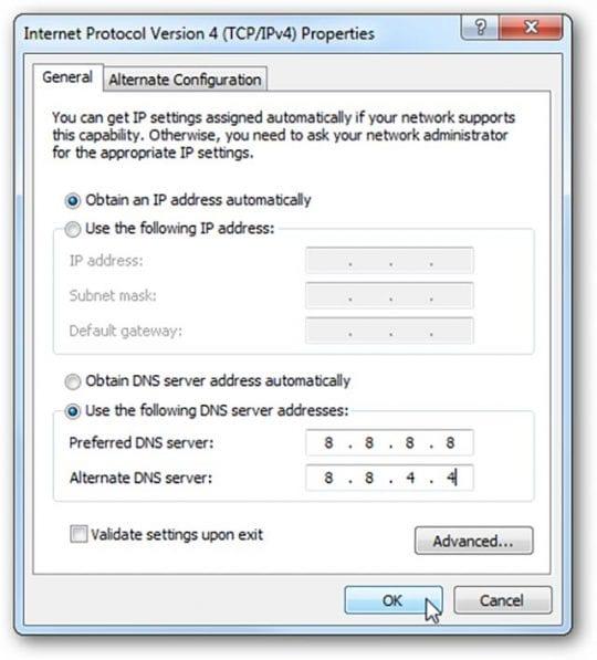 Make Safari faster, more secure with OpenDNS & Google Public DNS