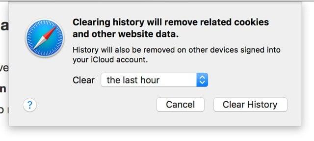 Make Safari faster: Clear Safari's cache, cookies and history