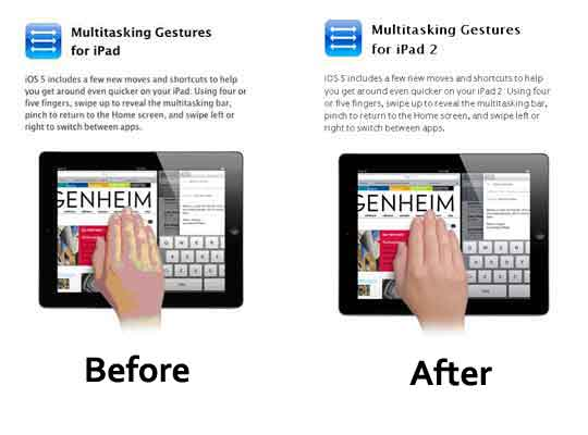 How to Enable iOS 5 Multitasking Gestures for iPad 1 - AppleToolBox