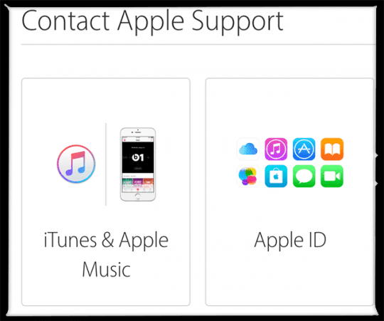 apple support email spam