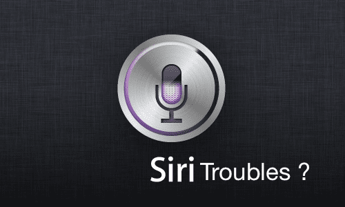 Siri Not Working, How-To