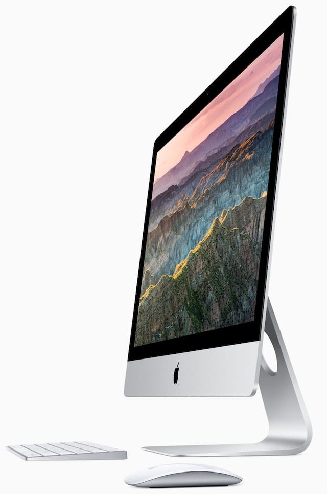 iMac with Magic Mouse