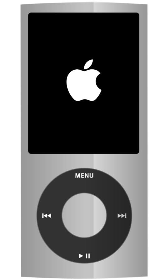 iPod nano restarting with white Apple logo