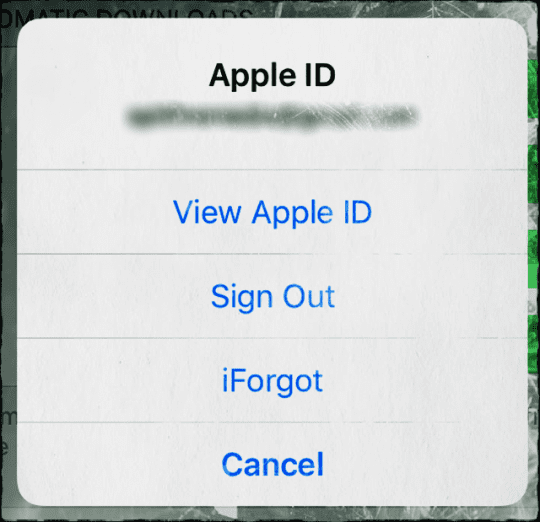 how to find out my apple password