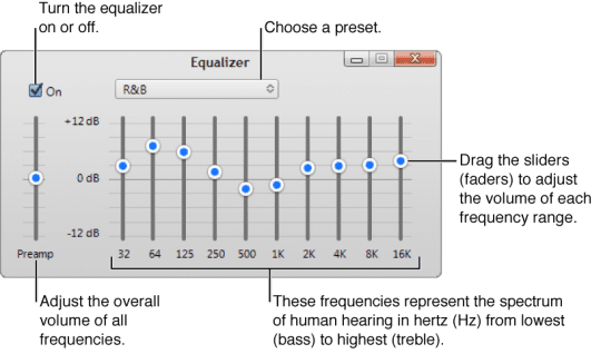 How to change your EQ settings in iTunes