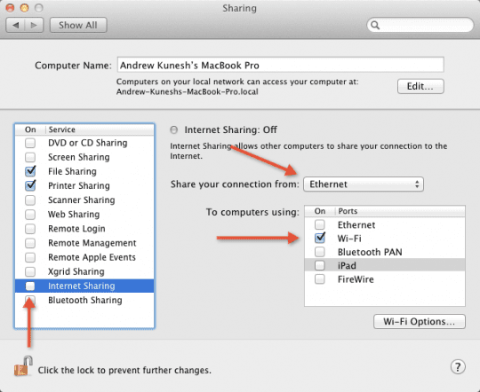 Using Your Mac As A Wireless Access Point - AppleToolBox