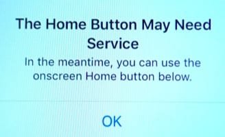 Home Button Needs Service