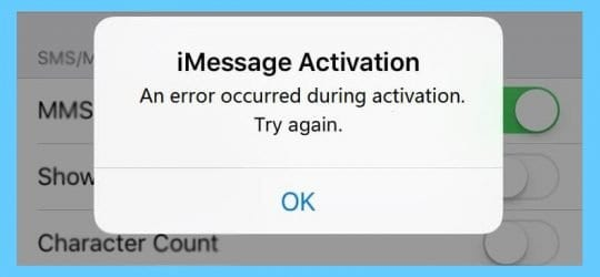 How do I Fix FaceTime or iMessage Waiting for Activation