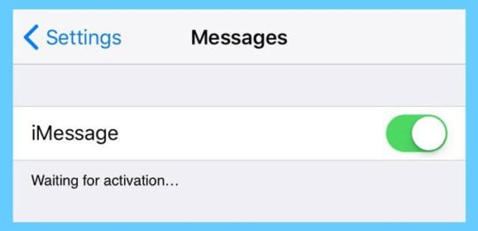 How to Fix FaceTime / iMessage Waiting for Activation