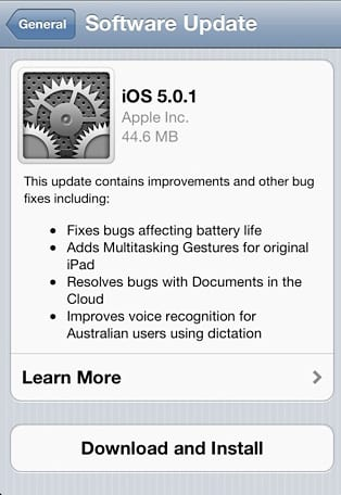 Sofware Update