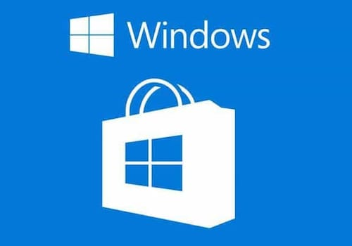 Microsoft Windows Store logo.