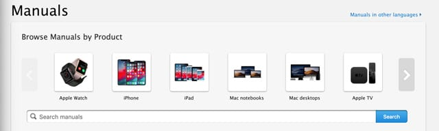 apple user guides site
