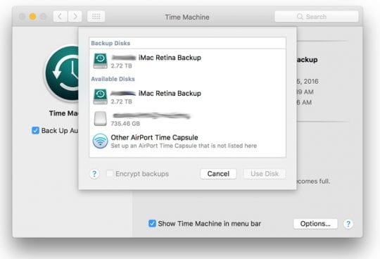 How To Setup and Use macOS and OSX Time Machine [GUIDE]