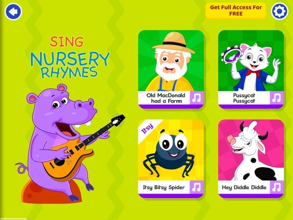KidloLand Kids Nursery Rhymes - iPad
