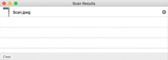 How to scan photos / images by using iPhoto or Photos on a Mac