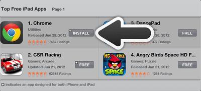 App not downloading / installing stuck > App Store