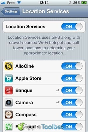 Adding tags with GPS information