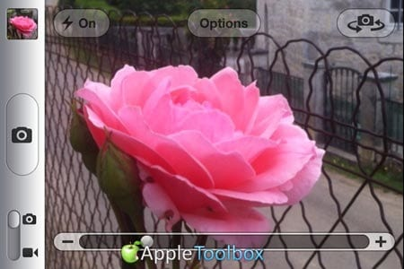 The zoom & macro feature