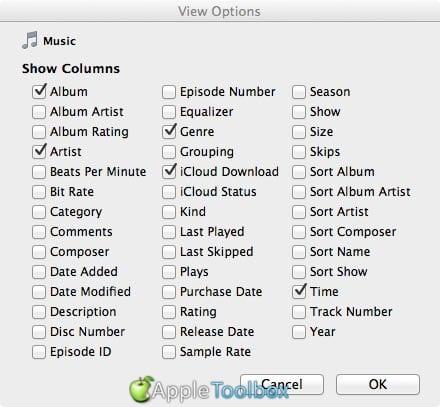 iCloud Status