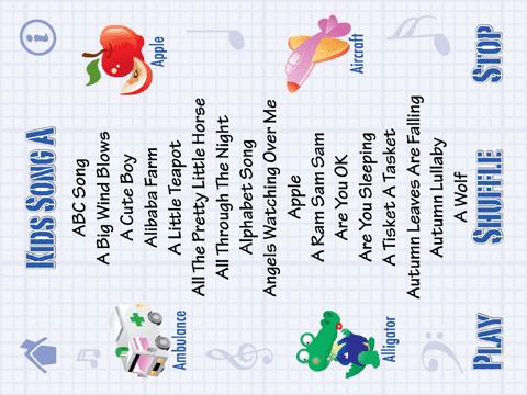 Kids Song A