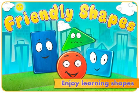 Friendly Shapes - funny interactive adventure HD