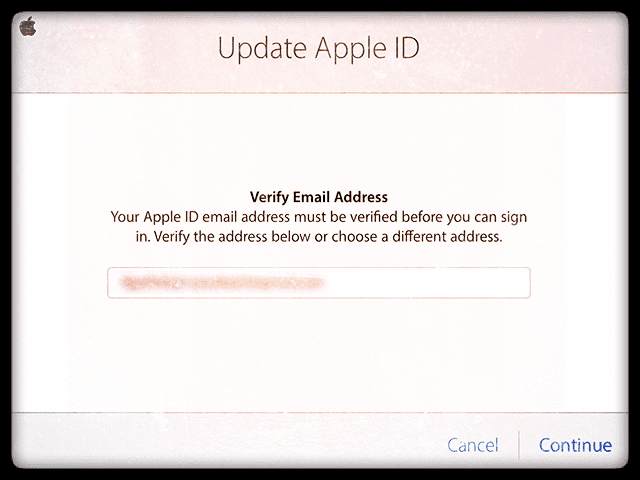 Fix: Unable to verify Apple ID because activation / verification email is NOT sent / received