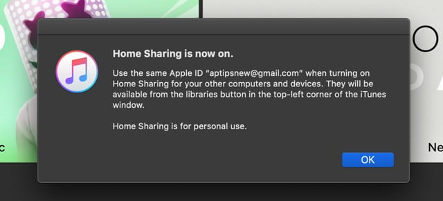 iTunes Home Sharing not working? How to fix - AppleToolBox
