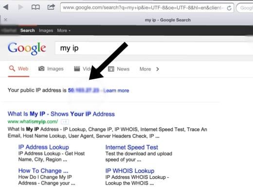 Google IP