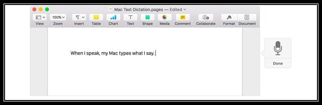 Dictation is not working on Mac OS X & macOS, how do I fix
