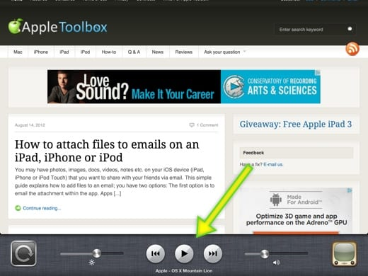 How to listen YouTube while using other apps on iPad/iPhone