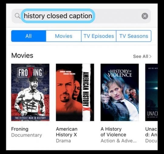 How to Turn On Closed Captioning for iPhone, iPad, and iPod Touch and Find Movies