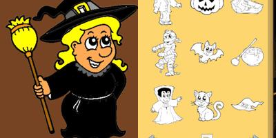 Halloween Coloring Book! app