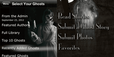True Ghost Stories From Around the World app