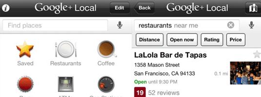 Goole Local app