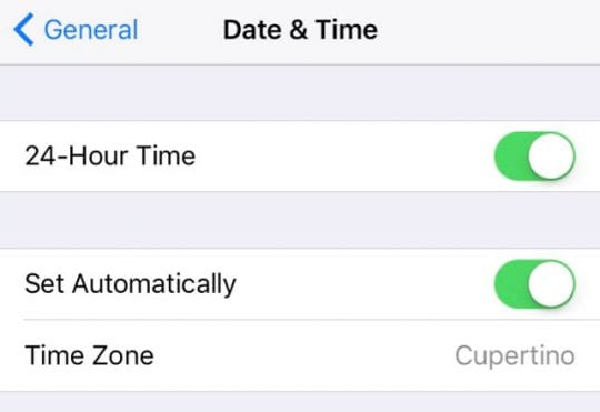 iOS: Location Services Not Working, fix - AppleToolBox