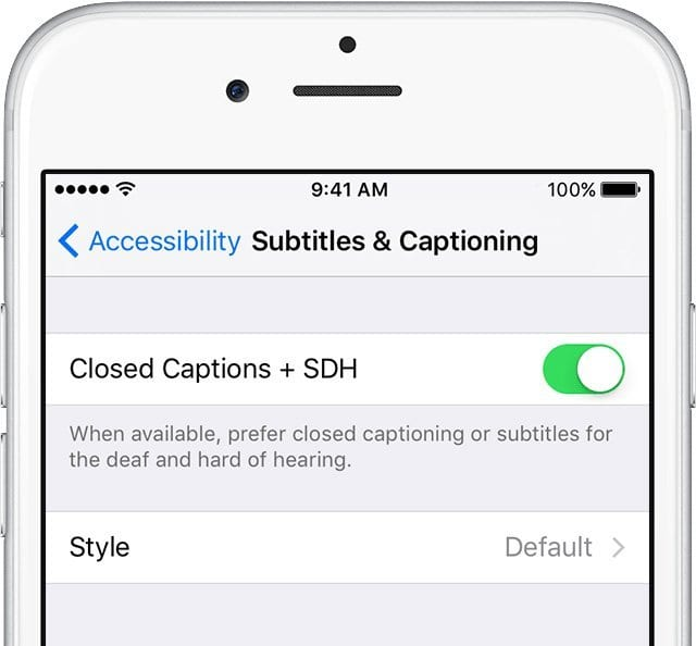 How to Turn On Closed Captioning for iPhone, iPad, and iPod Touch