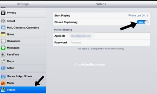 How to Enable Closed Captioning on iOS Videos