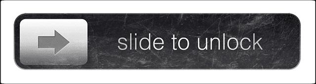 Slide to unlock not working on iPad / iPhone